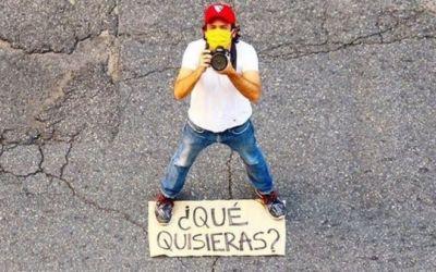 ¿QUÉ QUISIERAS?: el fotógrafo venezolano que retrata los sueños de la gente en medio de la pandemia