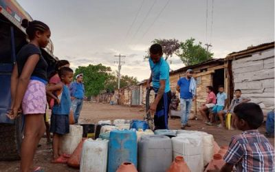 En La Paz, el agua siempre viene pero nunca llega