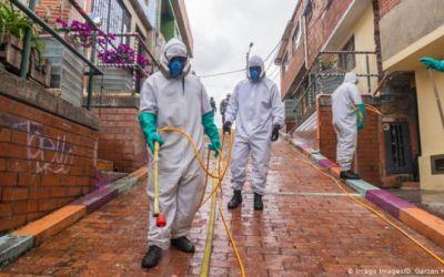 Vertiginoso ascenso de la pandemia en Colombia