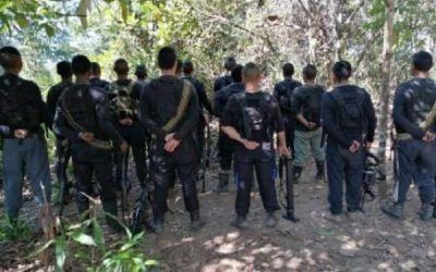 Los Caparros siguen operando en el Bajo Cauca y sur de Córdoba al mando de alias Samuel. ¿Desmantelados?