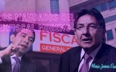 Los mandados del fiscal anticorrupción Luis Gustavo Moreno al Fiscal General Néstor Humberto Martínez