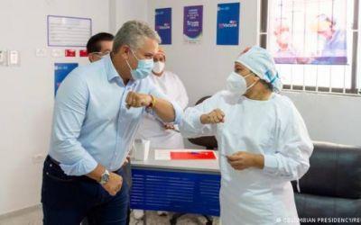 Colombia comienza la vacunación contra el COVID-19