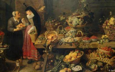 Evolución: cuando pinturas antiguas ayudan en la investigación de alimentos