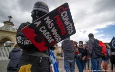 Reportan 753 líderes sociales asesinados en Colombia de 2016 a 2020