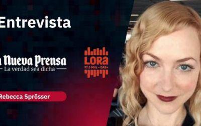 Entrevista a Rebecca Sprößer para radio Suiza y La Nueva Prensa