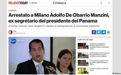 Interpol detiene en Italia a exfuncionario del expresidente panameño Ricardo Martinelli