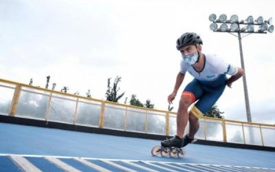 El patinaje volvió a rodar en El Salitre