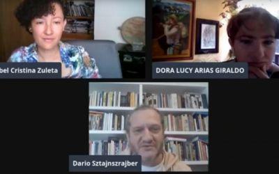 Isabel Cristina Zuleta y Darío Sztajnszrajber conversan sobre la institucionalización del silencio