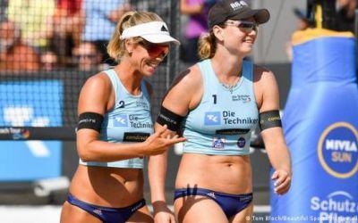 Catar finalmente autorizará el uso de los bikinis en su torneo de vóley-playa