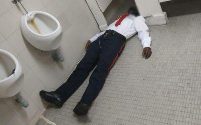 Hallan muerto en un baño a hombre de seguridad de la Corte Suprema de Justicia
