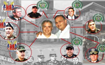 """El narcotraficante """"Ñeñe"""" Hernández era amigo entrañable de oficiales de Policía y Ejército que debían perseguirlo a él"""