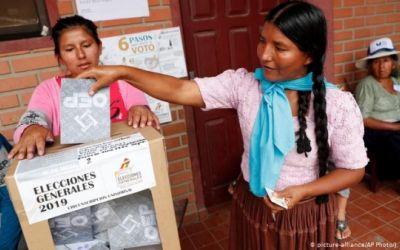 Bolivia convoca las elecciones pendientes para el 6 de septiembre