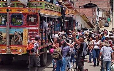 Antioquia: continúa el desplazamiento forzado en Ituango