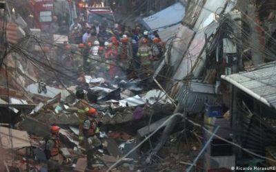 Un edificio de cuatro pisos se desploma en Río de Janeiro: aún no se sabe si hay muertos