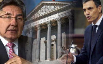 Congreso español pide a su gobierno tomar acciones frente a los bienes y fondos que oculta en ese país el Fiscal General de Colombia