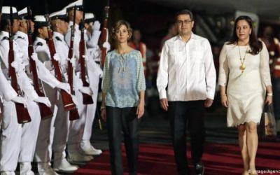 Pareja presidencial de Honduras la primera en América con COVID-19