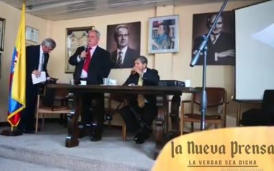 Video completo del discurso del general Rito Alejo del Río en el que anuncia que no encubrirá más los crímenes de Álvaro Uribe Vélez
