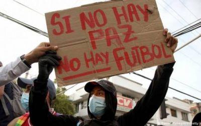 Las protestas en Colombia perjudican al fútbol nacional