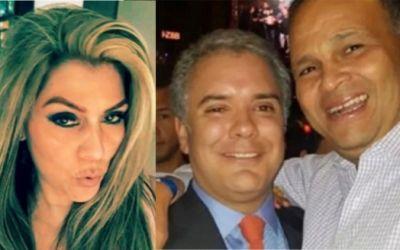 """Sandra Isabel Aguilar fue la """"Cayita"""" del narcotraficante """"Ñeñe"""" Hernández para la campaña de Iván Duque en Santander"""