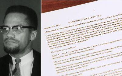 La confesión de un expolicía en su lecho de muerte revela su papel en el asesinato de Malcolm X