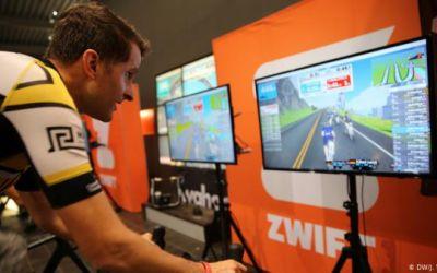 Ciclismo virtual en apogeo en tiempos de coronavirus
