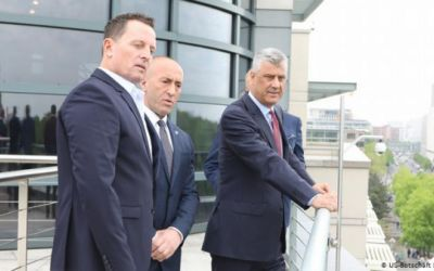 El presidente de Kosovo, Hashim Thaçi, ante Corte Penal de La Haya por crímenes de lesa humanidad