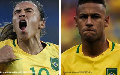 Brasil iguala sueldos de sus selecciones masculina y femenina