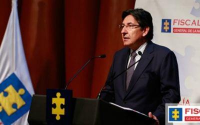 El fiscal general del Estado de Colombia cobraba parte de sus facturas en el extranjero cuando ejercía la abogacía