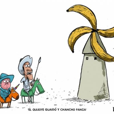 EL QUIJOTE GUAIDÓ Y CHANCHO PANZA