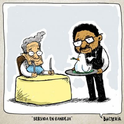 SERVIDA EN BANDEJA