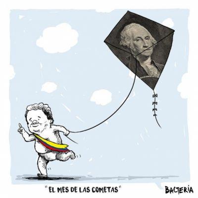 EL MES DE LAS COMETAS