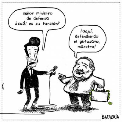 LA DEFENSA DEL MINISTRO
