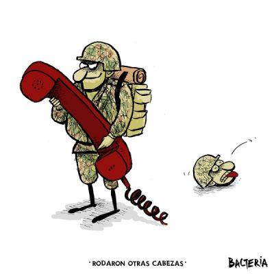 RODARON OTRAS CABEZAS