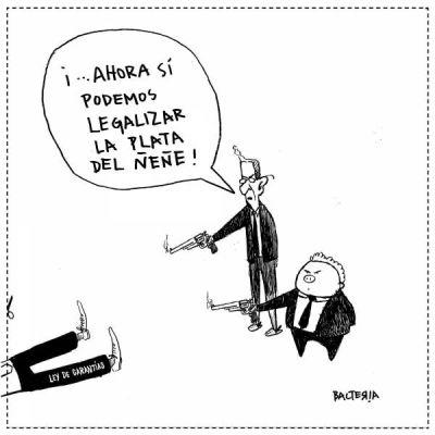 ELIMINARON LA LEY DE GARANTÍAS