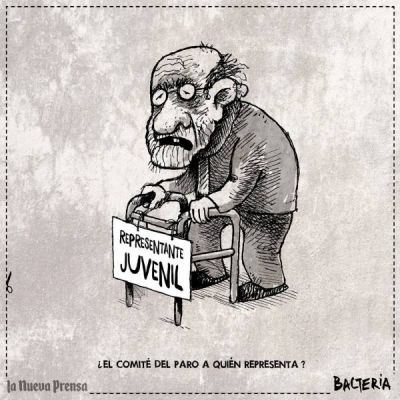 ¿EL COMITÉ DEL PARO A QUIÉN REPRESENTA?
