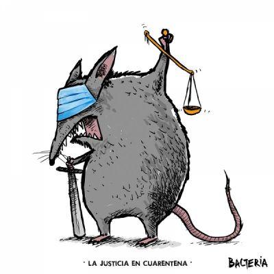 LA JUSTICIA EN CUARENTENA