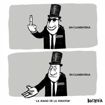 LA MANO DE LA DIMAYOR