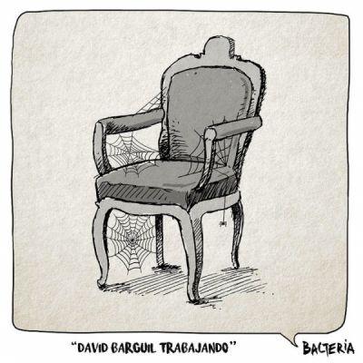 DAVID BARGIL TRABAJANDO