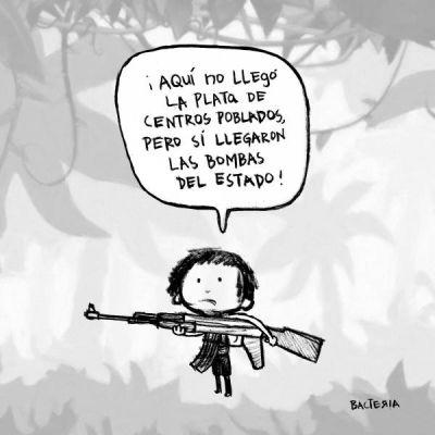 BOMBARDEO EN EL CHOCÓ