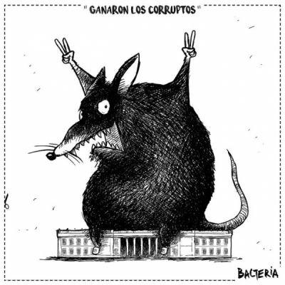 GANARON LOS CORRUPTOS