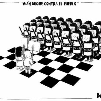 IVÁN DUQUE CONTRA EL PUEBLO