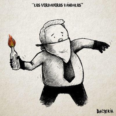 LOS VERDADEROS VANDALOS