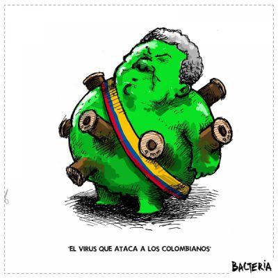EL VIRUS QUE ATACA A LOS COLOMBIANOS