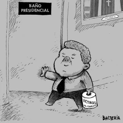 EL PRESIDENTE Y LAS VICTIMAS