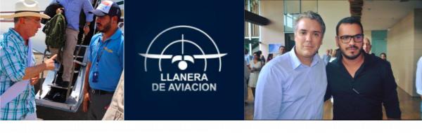Tiene contratos con Aerocivil empresa con la que volaba el piloto del Cartel de Sinaloa que transportaba a Álvaro Uribe e Iván Duque